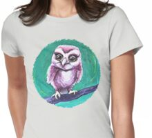 Wide-Eyed Womens Fitted T-Shirt