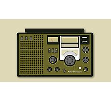 Retro Radio (National Panasonic DR22) Photographic Print