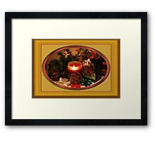 Getting Ready for Christmas... Framed Print