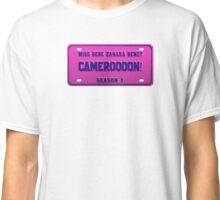 Cameroon - Bebe Zahara Benet License Plate Classic T-Shirt