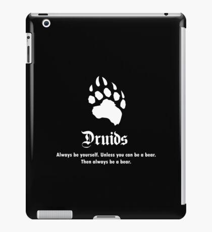 Druids Slogan iPad Case/Skin