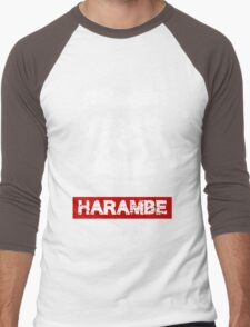 harambe Men's Baseball ¾ T-Shirt