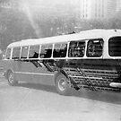 Warsaw Bus by Tomasz-Olejnik