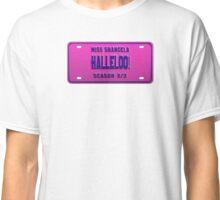 Halleloo! - Shangela License Plate Classic T-Shirt