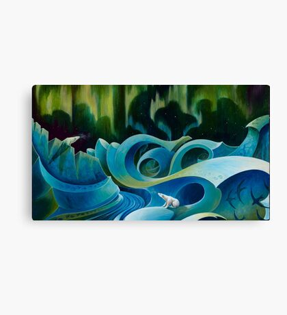 Free Floe Horizon Detail Canvas Print