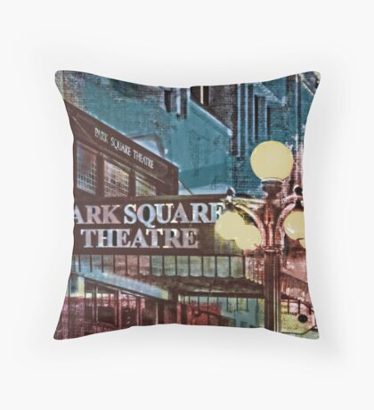 Park Square Theatre Throw Pillow