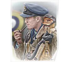 RAF Spitfire Pilot Poster