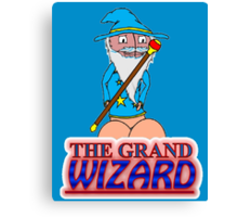 The Grand Wizzard Canvas Print