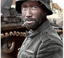 German Landser (Eastern Front) by A. Hermann