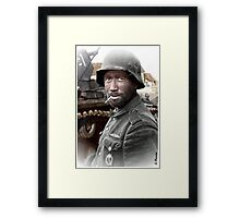 German Landser (Eastern Front) Framed Print