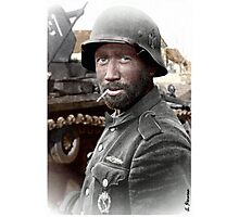 German Landser (Eastern Front) Photographic Print