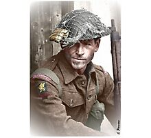 British Soldier WW2 Photographic Print