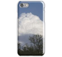clouds in the sky iPhone Case/Skin