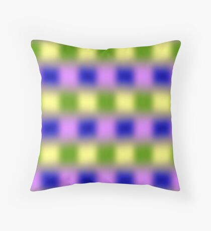 Troubled Mind Throw Pillow