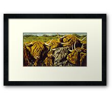 Highland Gathering Framed Print