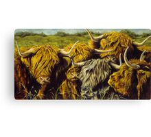 Highland Gathering Canvas Print