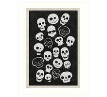 A Lot Of Skulls Art Print