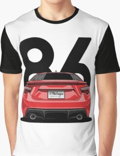 GT86 (red) Graphic T-Shirt