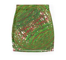Crossed Signals Mini Skirt