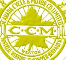 CCM vintage Bicycles Canada Sticker