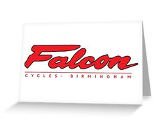 Falcon Bicycles England Greeting Card