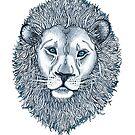 Blue Eyed Lion by micklyn