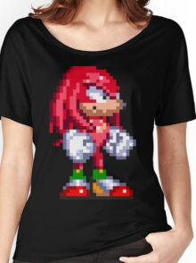 Knuckles the Echidna  Women's Relaxed Fit T-Shirt
