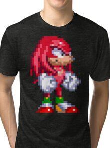 Knuckles the Echidna  Tri-blend T-Shirt