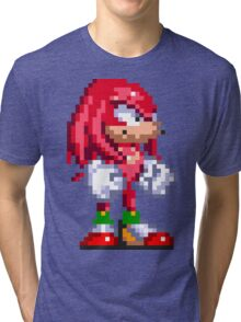 Knuckles the Echidna  Tri-blend T-Shirt