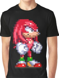 Knuckles the Echidna  Graphic T-Shirt
