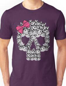 kitten sugar skull Unisex T-Shirt