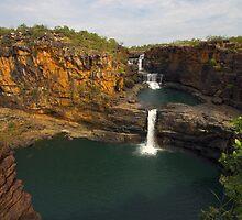Mitchell Falls, Kimberley, WA by Romandar
