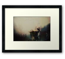 Arinaceous Seams  Framed Print