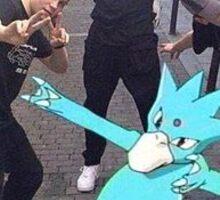 Lean in pokemon GO Sticker
