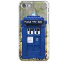Travel's With The Tardis iPhone Case/Skin