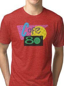 Cafe 80s – Back To The Future II, Marty McFly, Pepsi Perfect Tri-blend T-Shirt