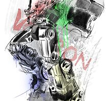 Voltron Force by Hushy