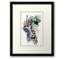 Voltron Force Framed Print