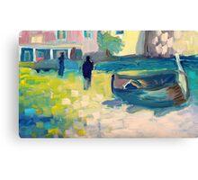 Pescatori Canvas Print