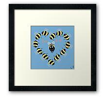 Bee kind! Framed Print