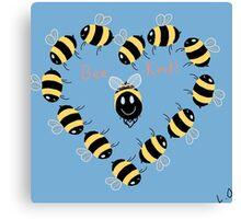 Bee kind! Canvas Print