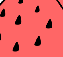 I Like Watermelons Sticker