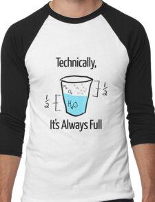Science is Optimistic Men's Baseball ¾ T-Shirt