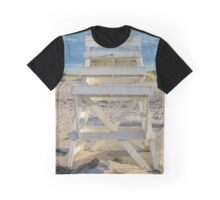 Lifeguard's High Chair | Hampton Bays, New York Graphic T-Shirt