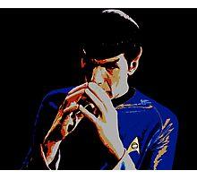 Amok Spock Photographic Print