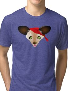 Aye, Aye! the Pirate Aye-Aye Tri-blend T-Shirt