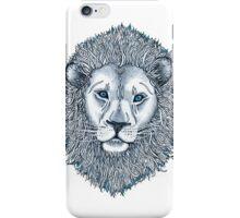 Blue Eyed Lion iPhone Case/Skin