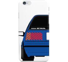 Nissan Exa Sportback - JAP Edition Blue iPhone Case/Skin