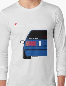 Nissan Exa Sportback - JAP Edition Blue Long Sleeve T-Shirt