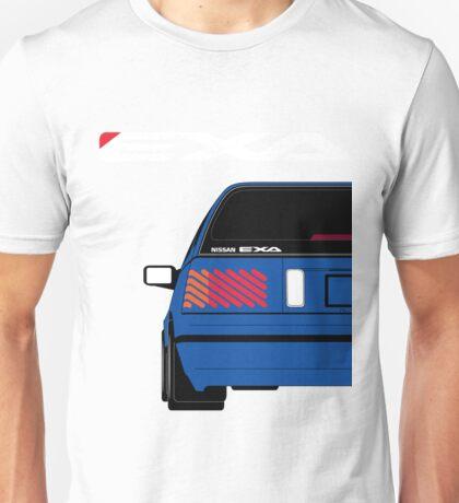 Nissan Exa Sportback - JAP Edition Blue Unisex T-Shirt